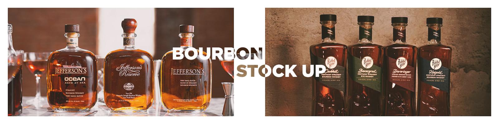 Bourbon Stock Up