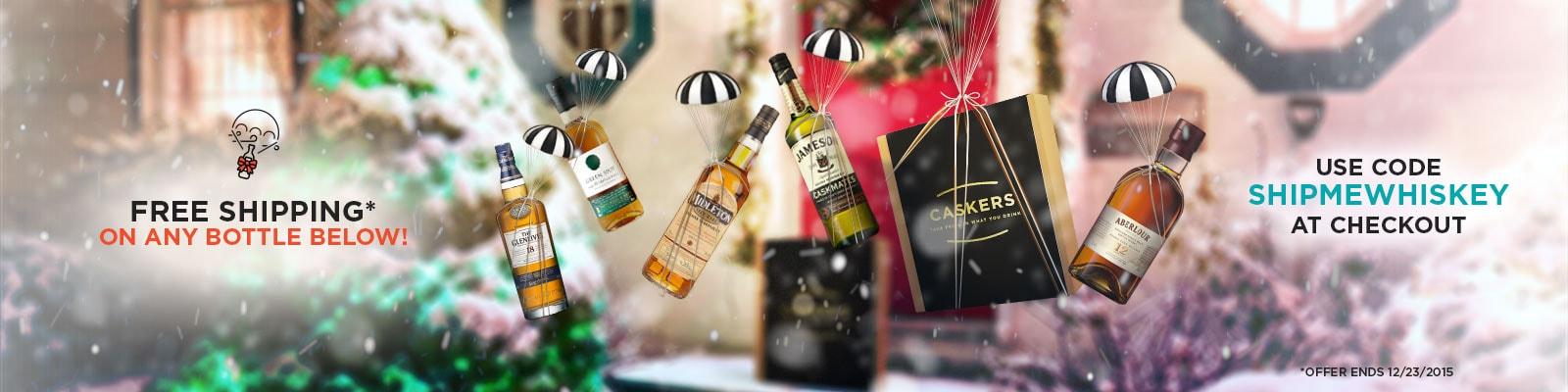 PRUSA - Holiday Free Shipping Bottles