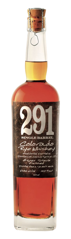 291 Colorado Single Barrel Rye Whiskey