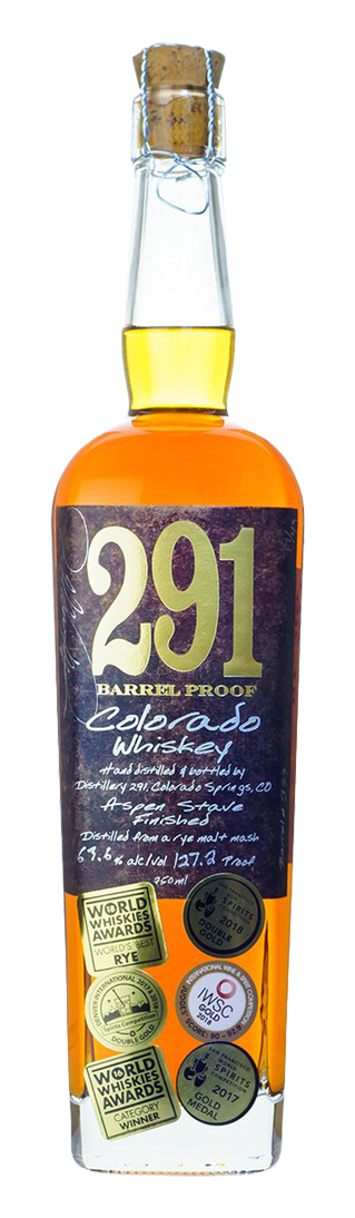 291 Colorado Whisky Barrel Proof Whiskey