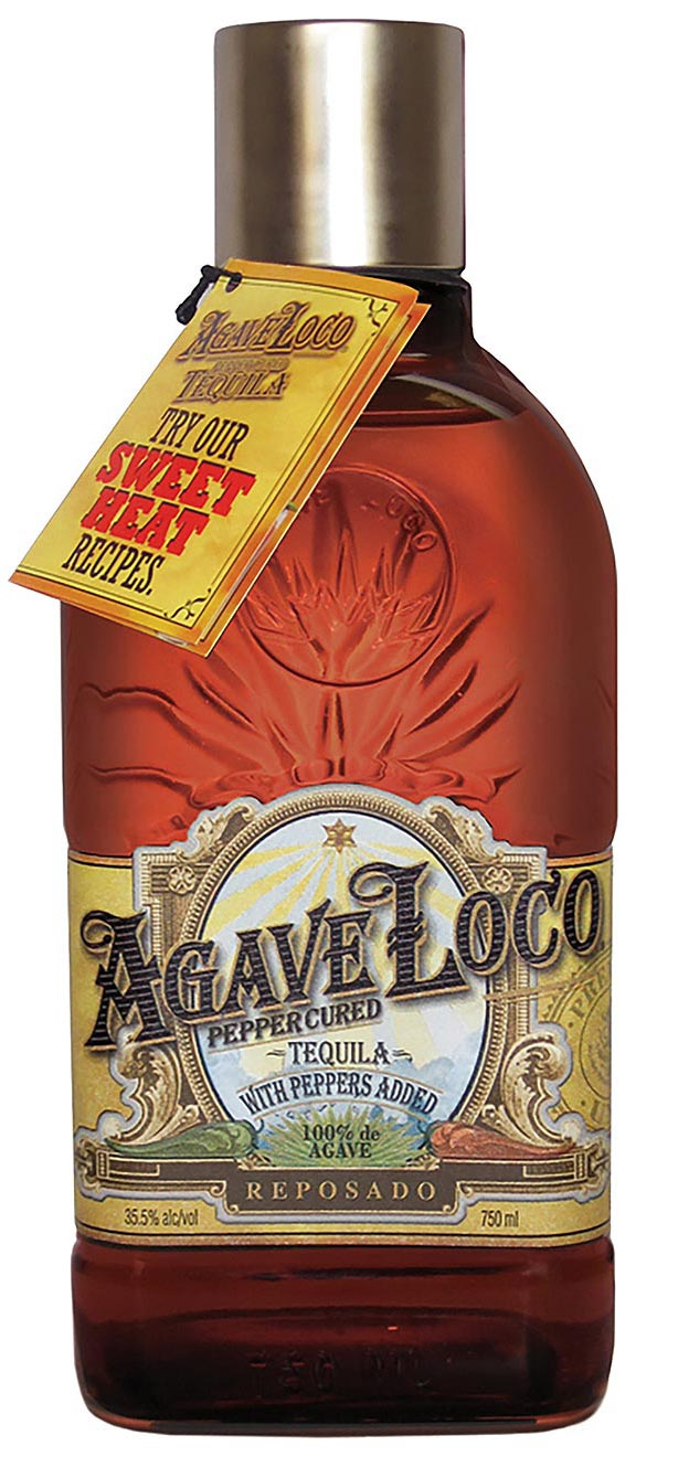 Agave Loco Pepper Cured Tequila Reposado