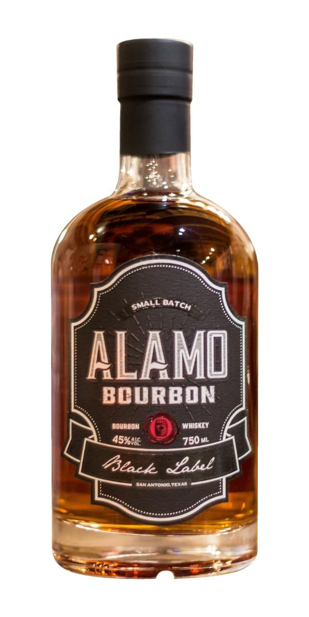 Alamo Black Label Bourbon Whiskey