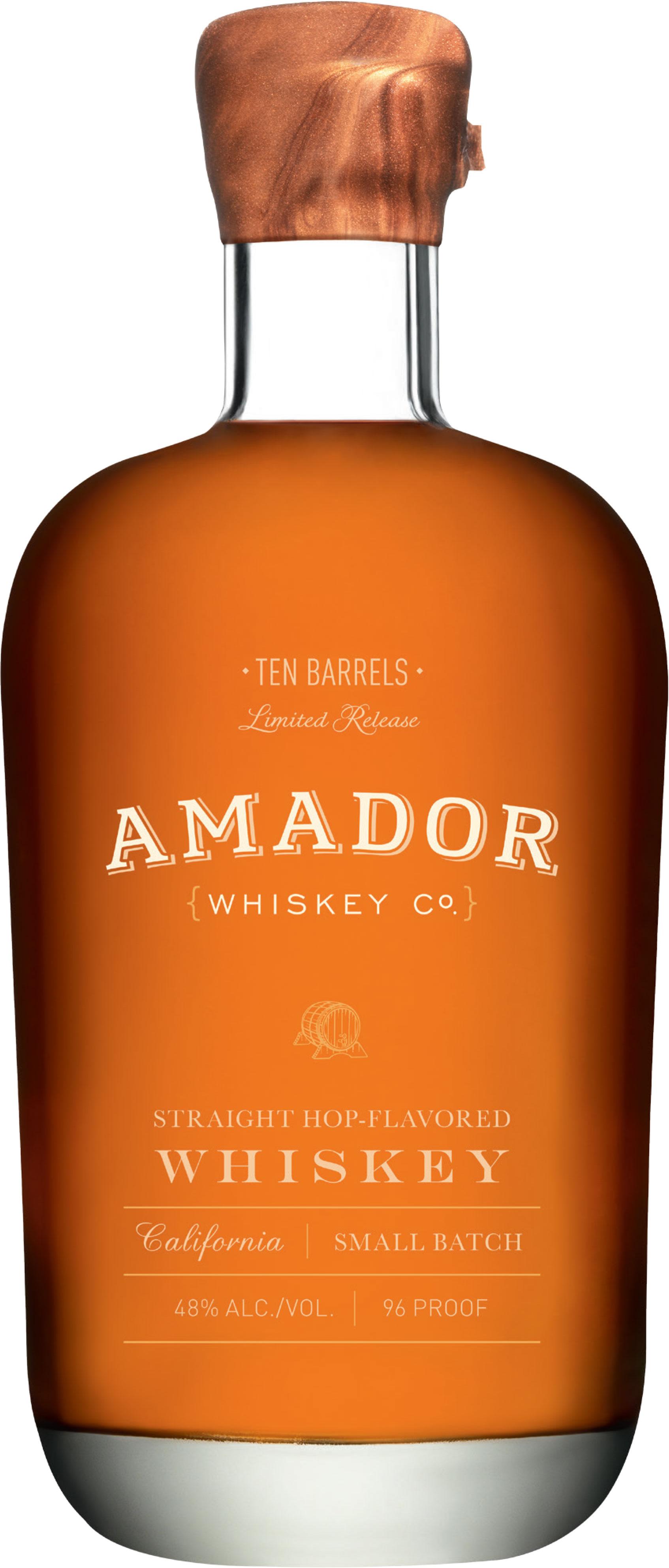 Amador Ten Barrels Straight Hop Flavored Whiskey