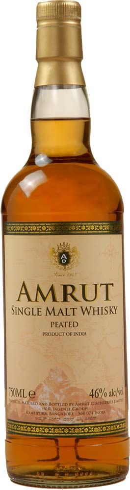 Amrut Peated Cask Strength Indian Single Malt Whisky