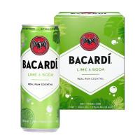 Bacardi Lime & Soda 4-Pack