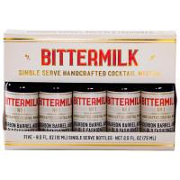 Bittermilk Single Serve Bourbon Barrel Aged Old Fashioned 5 Pack