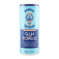 Bombay Sapphire Gin & Tonic 4-Pack