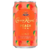 Crown Royal Peach Tea Whisky Cocktail 4-Pack
