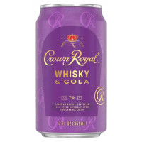 Crown Royal Whisky & Cola Cocktail 4-Pack