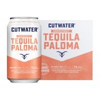 Cutwater Grapefruit Tequila Paloma 4-Pack