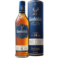 Glenfiddich Bourbon Barrel Reserve 14 Year Old Single Malt Scotch Whisky