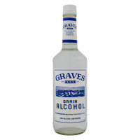 Graves Grain Alcohol 190 proof