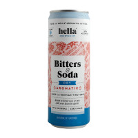 Hella Bitters & Soda Dry Aromatic 4-Pack
