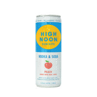 High Noon Peach Hard Seltzer 4-Pack