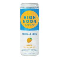 High Noon Mango Hard Seltzer 4-Pack