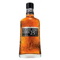 Highland Park 25 Year Old Single Malt Scotch Whisky (Spirits)