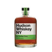 Hudson Whiskey NY Do The Rye Thing Rye Whiskey