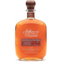 Jefferson's Reserve Groth Reserve Cask Finish Very Old Straight Bourbon Whiskey