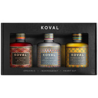 Koval Gin Trio Gift Pack