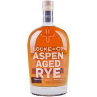 Locke + Co Aspen Aged Rye Whiskey