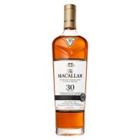 The Macallan 30 Year Old Sherry Oak Single Malt Scotch Whisky 2018