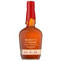 Maker's Mark Cask Strength Kentucky Straight Bourbon Whiskey (1L)
