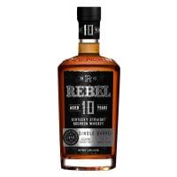 Rebel 10 Year Old Single Barrel Kentucky Straight Bourbon Whiskey