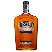 Rossville Union Master Crafted Barrel Proof Straight Rye Whiskey