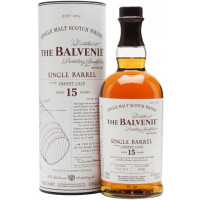 The Balvenie 15 Year Old Single Barrel Single Malt Scotch Whisky Sherry Cask