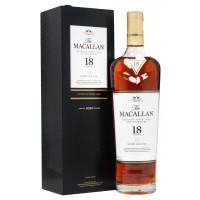The Macallan 18 Year Old Sherry Oak Single Malt Scotch Whisky