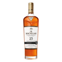 The Macallan 25 Year Old Sherry Oak Single Malt Scotch Whisky