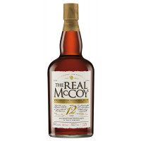 The Real McCoy 12 Year Old Prohibition Tradition Rum