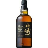 The Yamazaki 18 Year Old Single Malt Japanese Whisky