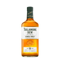 Tullamore DEW 18 Year Old Single Malt Irish Whiskey