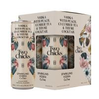Two Chicks Sparkling Vodka CuTea 4-Pack