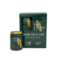 Two Stacks Dram in a Can Irish Whiskey 4-Pack