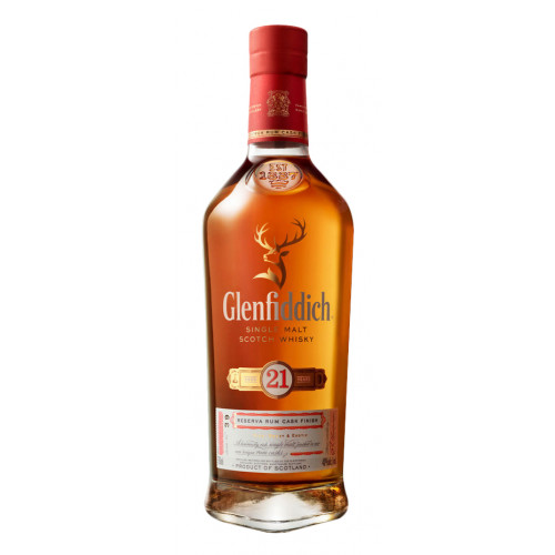 Glenfiddich 21 Year Old Gran Reserva Single Malt Scotch Whisky