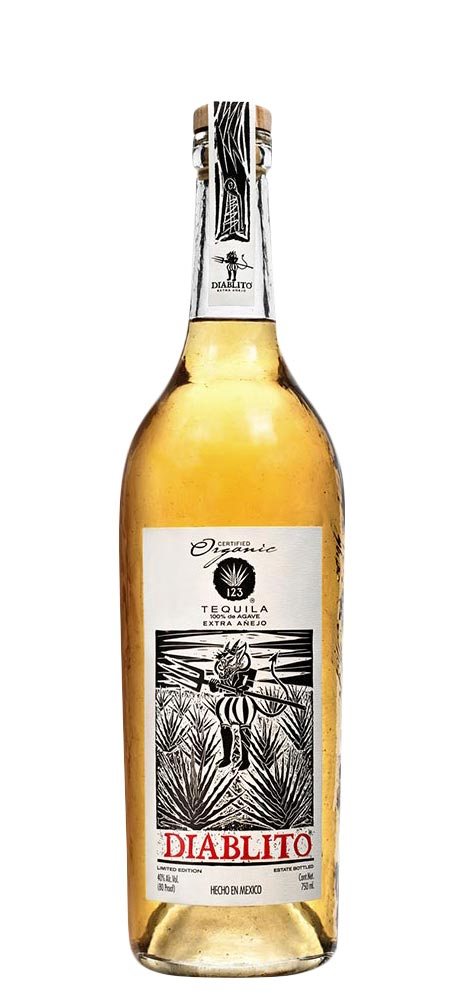 123 Diablito Organic Extra Aejo Tequila