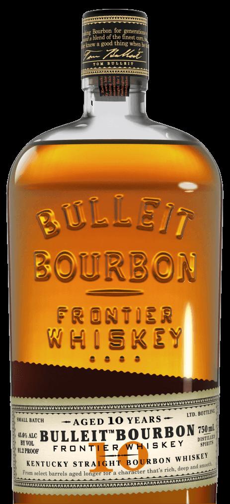 Bulleit 10 Year Old Kentucky Straight Bourbon Whiskey