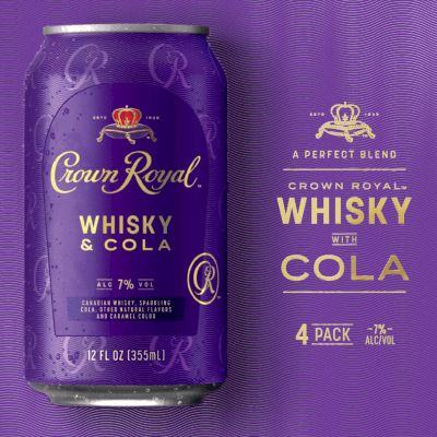 Crown Royal Whisky & Cola<