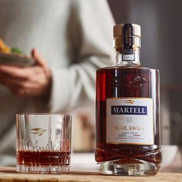 Martell Blue Swift V.S.O.P. Cognac