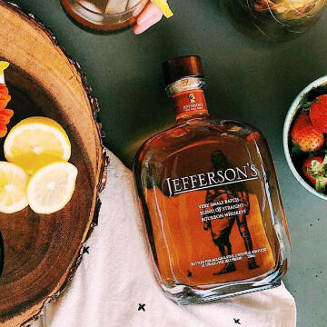 Jefferson's Very Small Batch Straight Bourbon Whiskey